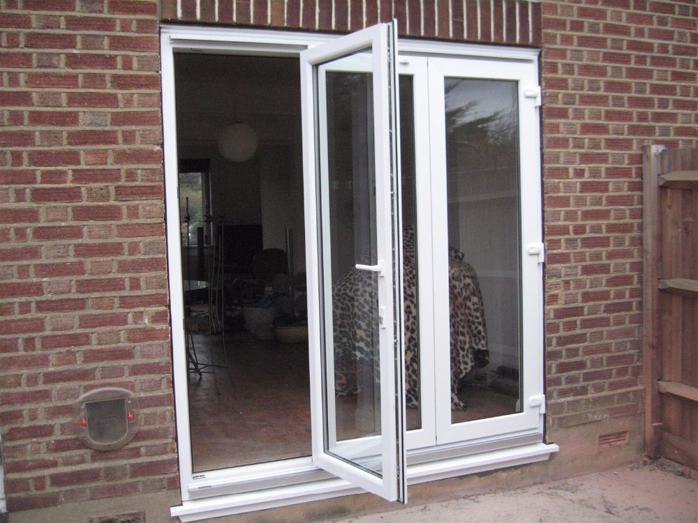 Aluminum glass folding door for all kinds of building and house