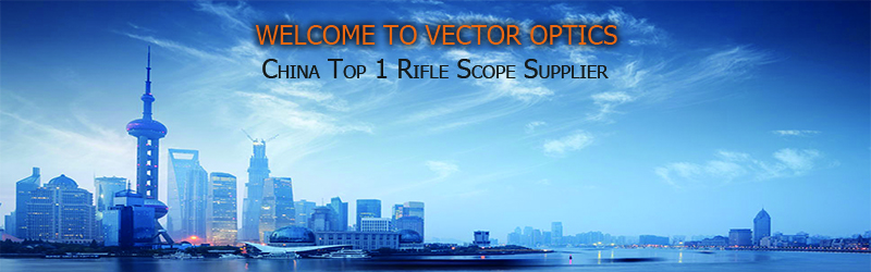 Vector Optics Thanator 1-8x24 Rifle scope with Red Illuminated VTC MIL Retile 1/10 MIL for CQB Compact