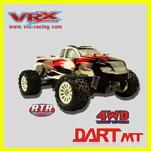 VRX rc car,1/18 electric car, brushless electric monster truck