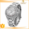 New fashion brand sliver diamond watch casual japan movt quartz watch
