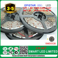 5 years warranty , epistar smd3528 flexible led strip, Red, Green,Blue,Yellow color