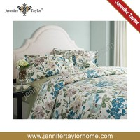 china supplier printed cotton bed set duvet cover and beddings hotel set