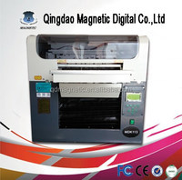 multifunctional flatbed A3 printer with two print heads with new technology A3 flatbed printer