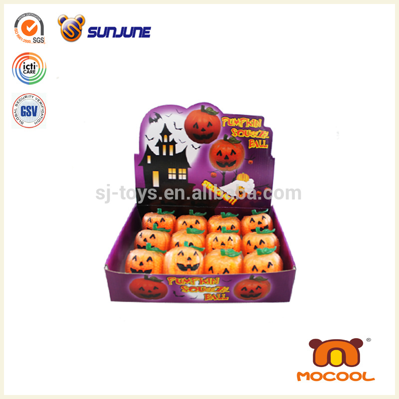 Pumpkin smiley face Squeeze Ball