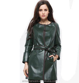 Fashion Italian Style Genuine Leather Jacket Coats