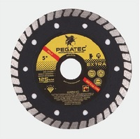 turbo angle grinder diamond disc blade tile 115, 125, 180, 200 &230 mm for marble&granite cutting