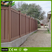 WPC cheap wooden fence panels