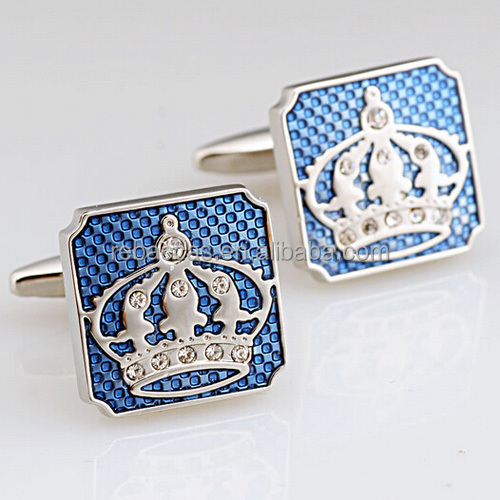 Wholesale high quality customized fashion style sterling silver cufflinks