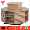 Wholesale wooden grocery store dispaly rack for snack food