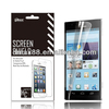 Touch screen protector film for mobile phone Huawei ascend p2 oem/odm(High Clear)