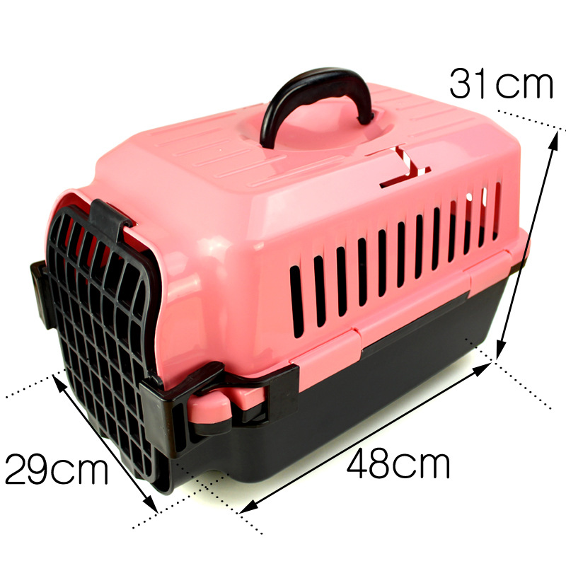 On Sale Exquisite Airline approved plastic Folding Dog Cages Pet Crate Dog Kennels In Outdoor