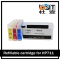 711xl refill kits compatible for HP Designjet T120 T520 printer ink cartridge