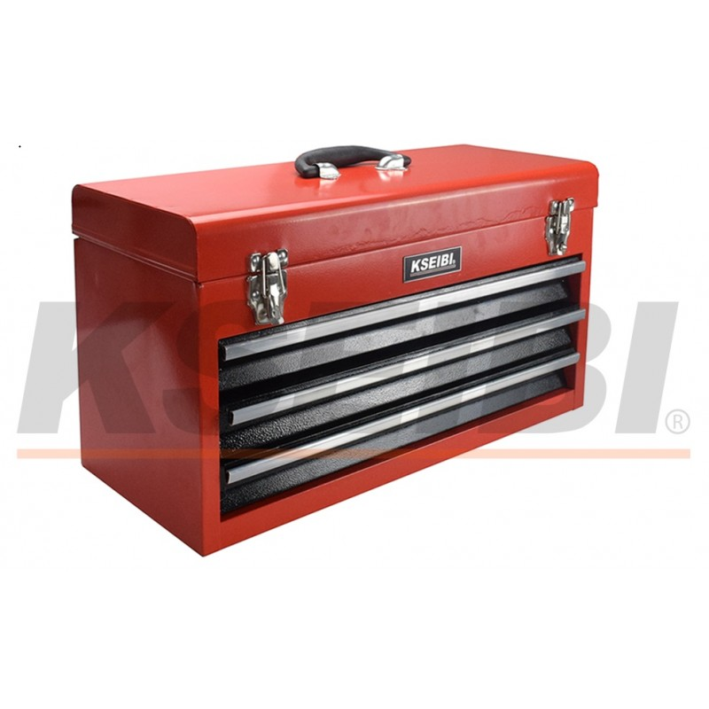 All New KSEIBI Metal Tools box with 4 Drawer With Handle