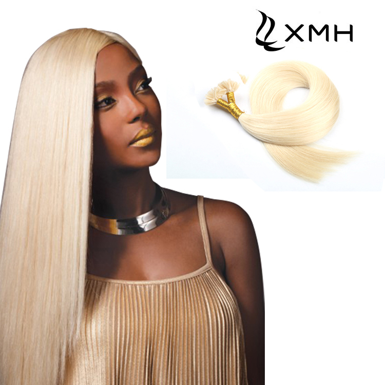 100% Remy Human Hair Pre Bonded Keratin Long Hair Extensions