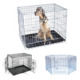 Designs Stainless Steel Iron Commercial Wire Cheap Wholesale Large Metal Pet Dog Kennel Cage For Sale Cheap