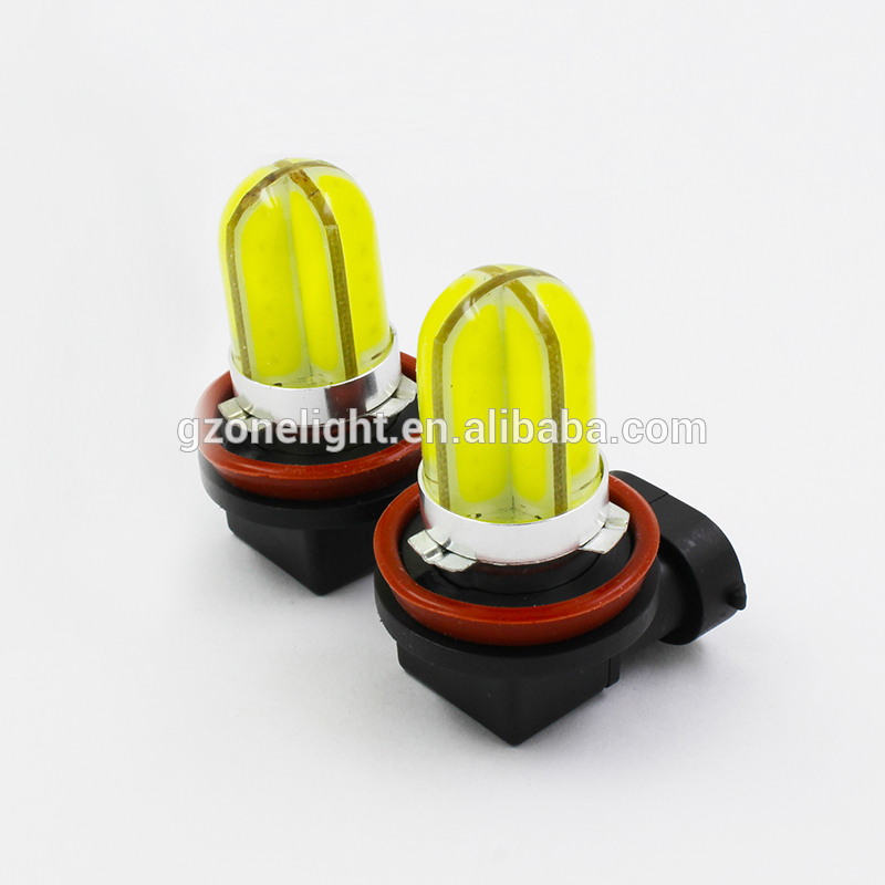 Led fog lamp H1 H3 H7 H11 9005 HB3 9006 HB4 880 new starfruit shape bright led bulbs