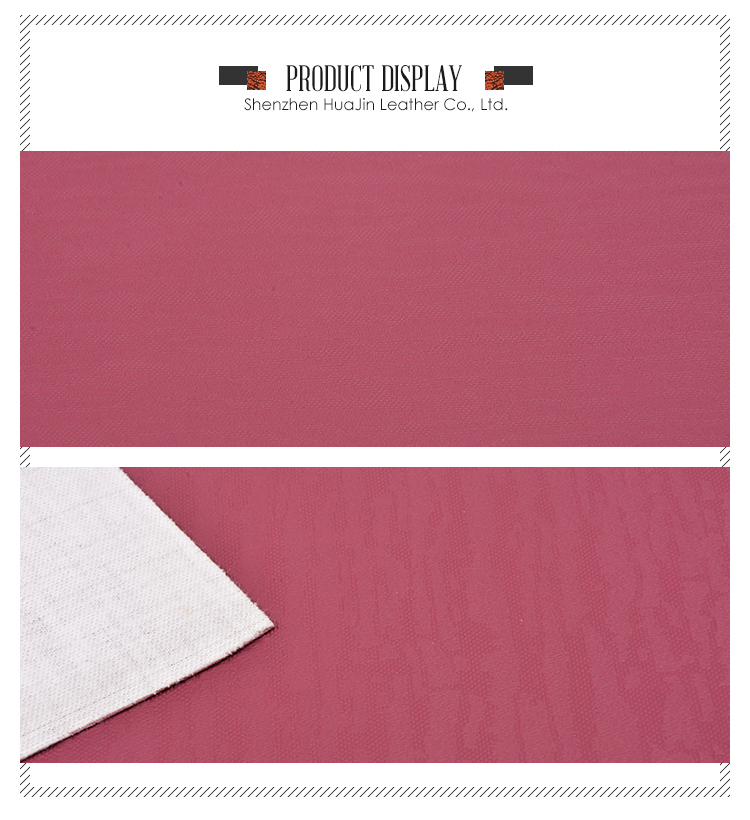 High Quality Durability Pvc Stationery Synthetic Leather