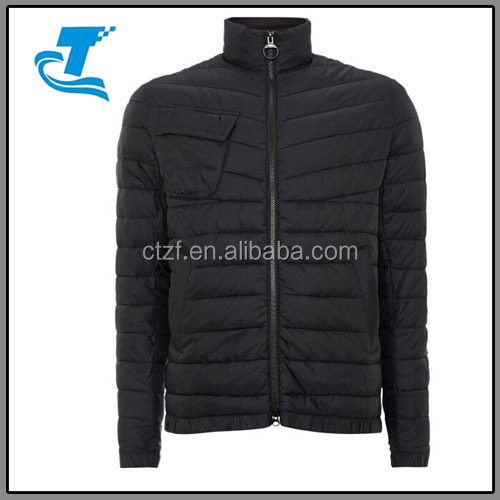OEM Service means 100% nylon Men's padded parka jacket