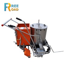 LF320 Manual Hot melt paint road marking machine for sale