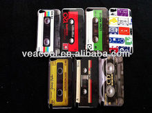 Cassette Tape Plastic Hard Back Phone Case Cover Skin for Apple iPod Touch 5 5th case