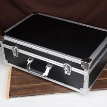 Aluminum Hard Case with Removable Lid with Velcro,heavy duty