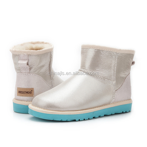 5854 Women's Sheepskin Elegant Snow Boots