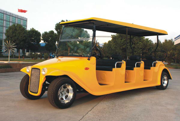 8 searter Luxury Electric Golf Cart With custom bodies optional CE Certificate DN-8D
