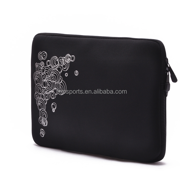 Custom Neoprene 15.6 Laptop Sleeve with Silk Printing Logo