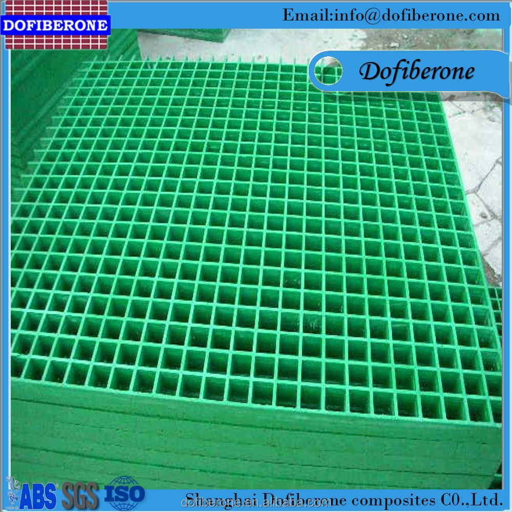 Rubber seweage grating frp grp grids