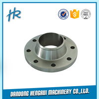 High quality din standard carbon steel forged pipe fitting flange
