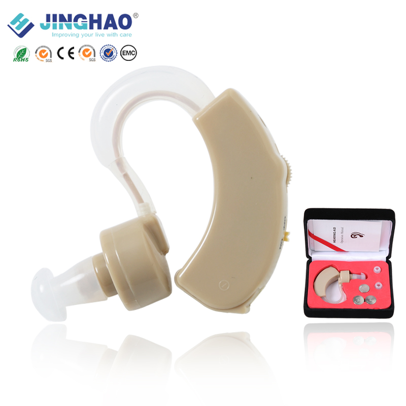 China cheap analog bte ear zoom hear amplifier hearing aids for sale
