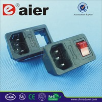 Electric switch socket machine or 5 pins industrial socket or 12 volt socket