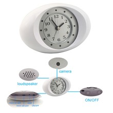 P2P WIFI IP Camera Wireless/wired Alarm clock Hidden camera H.264 Hd 720p Camcorder DVR Spy IP Camera