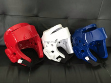 WTF appoved dipped foam Taekwondo equipment sparring head guard
