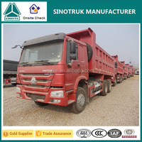 China best brand SINOTRUK HOWO 10 tiers tipper truck for sale