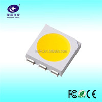 Alibaba China 0.2W Surface Mount Specifications Full led Color Light 5050 2835 smd led datasheet