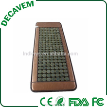Ceragem similar High quality deep therapy heat thermal germanium jade stone massage mattress for single bed
