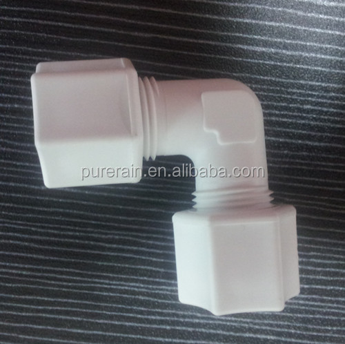 PP compression fittings/PVDF plastic fittings same as JACO fittings