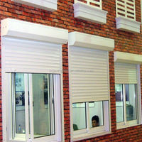 Safety Aluminum roller shutter with electric operation