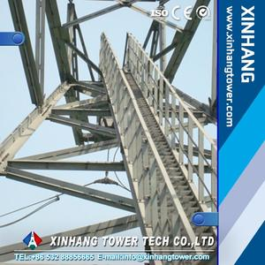 330KV Hot dipped galvanized high voltage power transmission tower