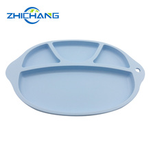 Healthy Baby Silicone Food Divider Kids Dinner Plate