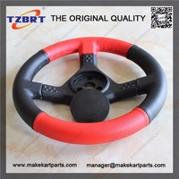 Brand new and popular 265mm sport racing steering wheel with PU leather