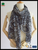 Modern promotional square scarf cotton