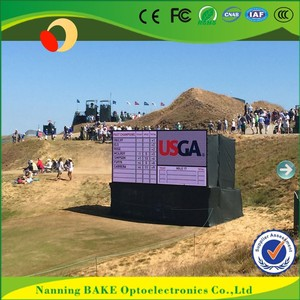 P10 outdoor fixed advertising led display electronic table tennis scoreboard