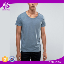 Shandao Hot Sale Men Summer 180g 35% Cotton 65% Polyester Short Sleeve Round Neck T Shirt Manufacturers South Africa