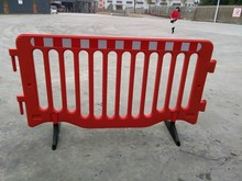Plastic Temporary Fence Traffic Barriers 1950mm