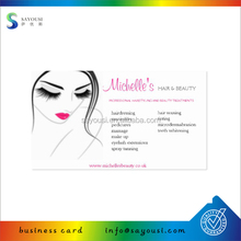 luxuriant in design logo printing commercial name card
