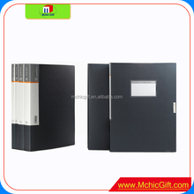 Custom A4 pages PP/PVC office supplies signature book with good quality