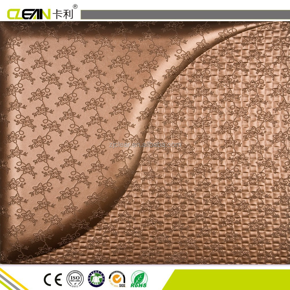 3d leather wall decoration panel, leather wall