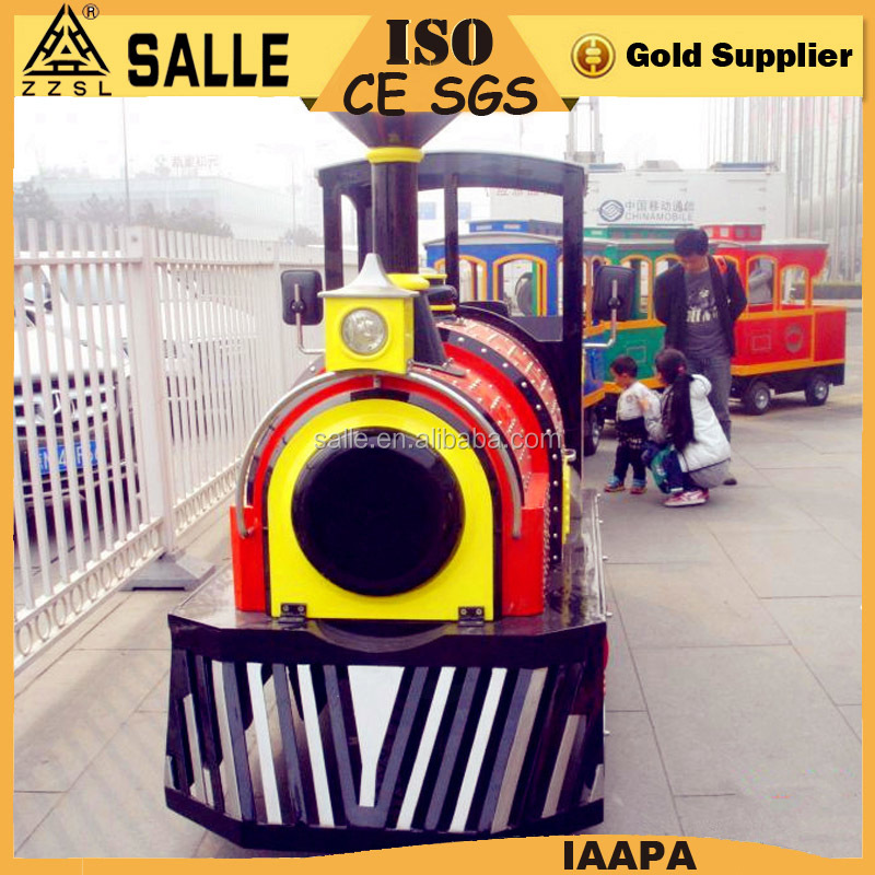 indoor playground equipment mini Antique electrical train outdoor lighted christmas train for sale